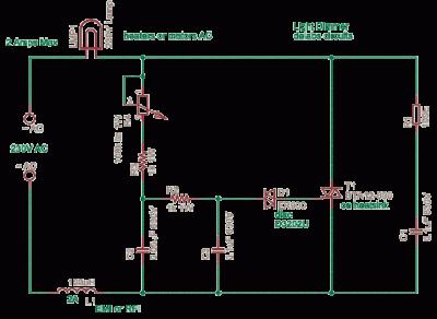Triac-SCR-Thyristor - schematic