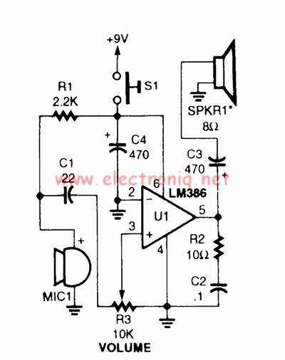 diagram further lm386 audio lifier circuit on vcr wiring diagram