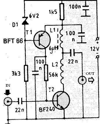 Index4 on rf transmitter circuit diagram