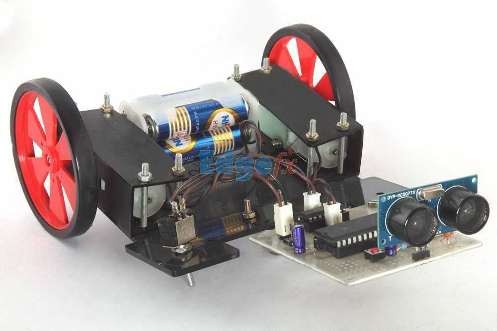 OBSTACLE AVOIDANCE ROBOTIC VEHICLE