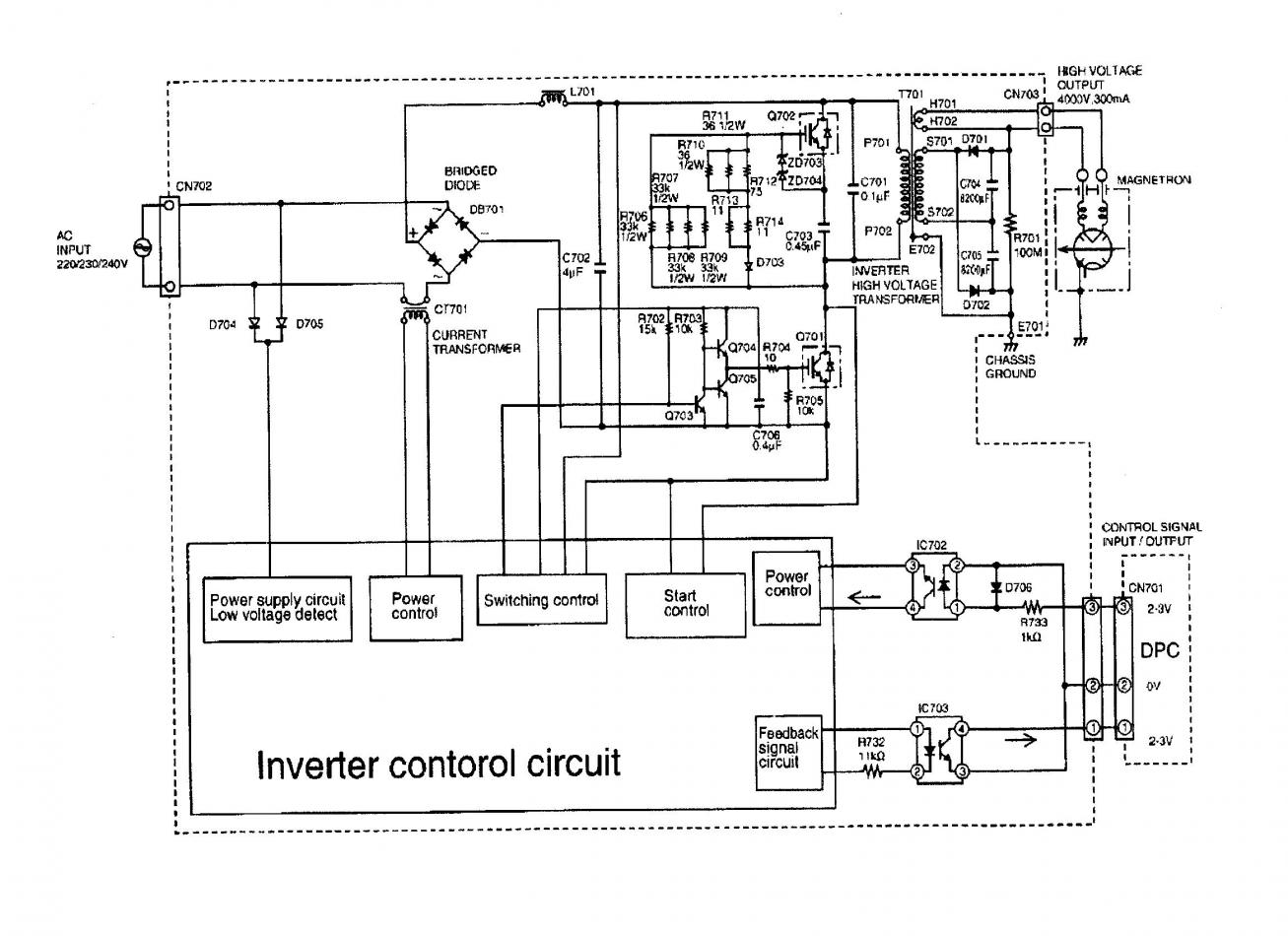 300w Inverter Wiring Diagram Diagrams Dc To Ac Simple 220v 12v 3000w Power