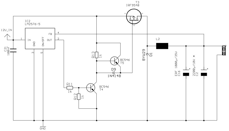 Adjustable Power Supply Using 7805 Circuit Diagram