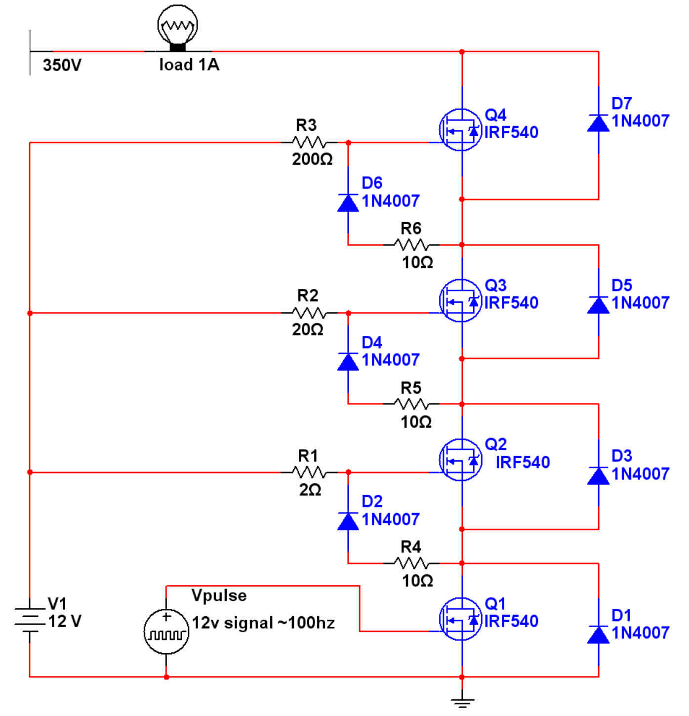 Mosfet Circuit Page 6 Other Circuits Http Circuitdiagramhqewnet Adjustablevoltageregulatorcircuit Mosfets In Series