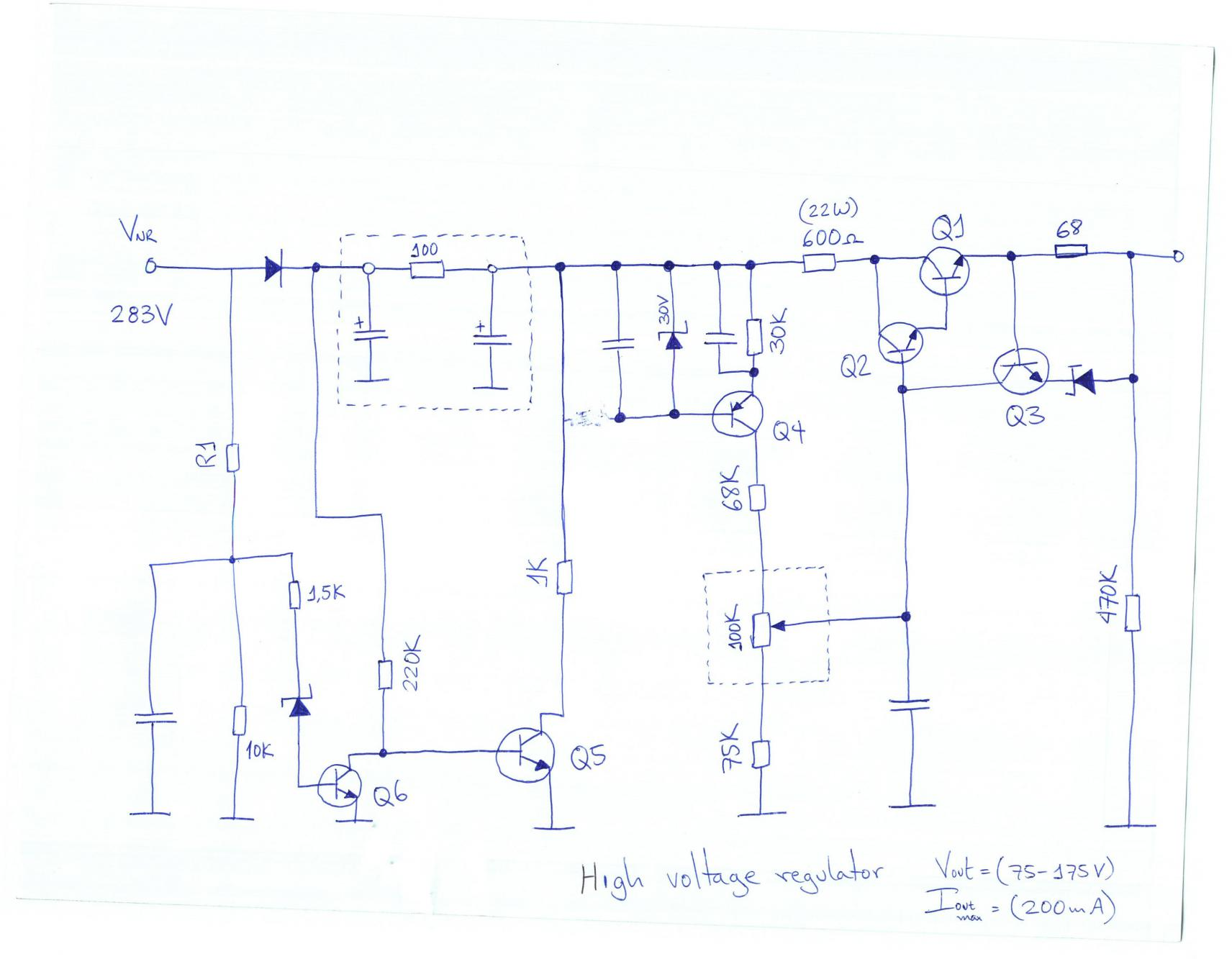 Power Supply Page 20 Circuits Adjustable Dc By Lm338 Electronic Projects Variable For Supplying Valve Amp Build