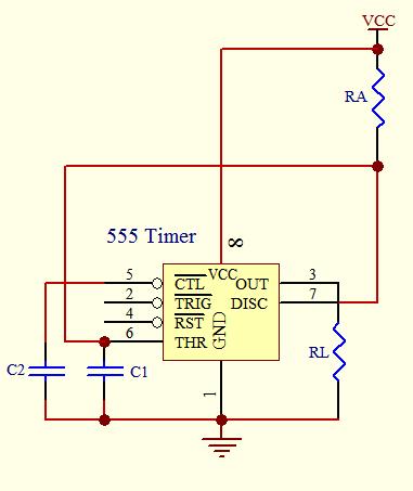 Timer circuit - schematic