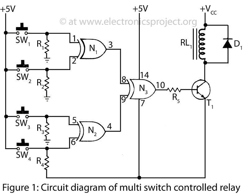 circuit diagram of multi switch controlled switch switching circuit page 9 other circuits next gr wiring diagram for multiswitch at bayanpartner.co