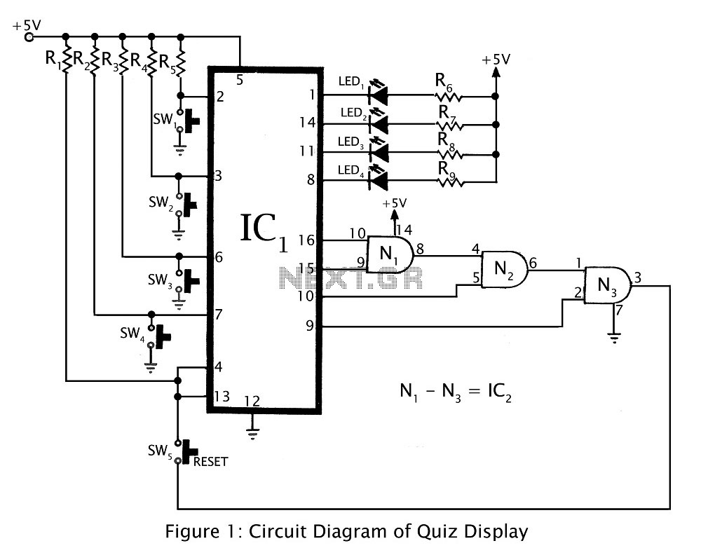 Results Page 118 About External Ram Searching Circuits At Figure 1 The 50w Bcl Car Audio Amplifiers Using Tda1562 Quiz Display Game Circuit