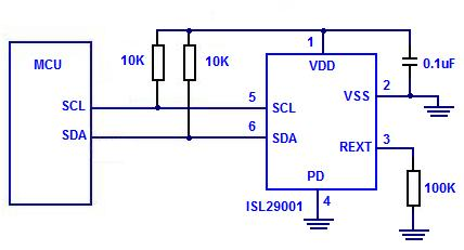 Digital Light Sensor - schematic