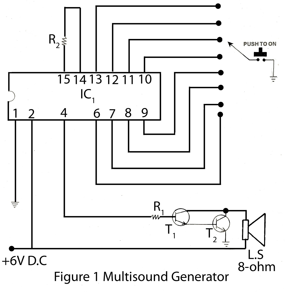 Results Page 78 About Active Crossover Diagram Searching Circuit Was Designed For The Purpose Of Creating An Multisound Generator With Description