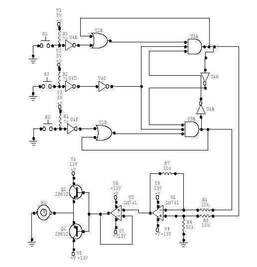 liquid sensor circuit page 3   sensors detectors circuits