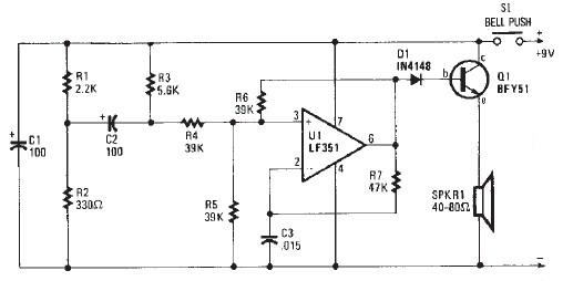 beeper buzzer circuit page 3   audio circuits    next gr