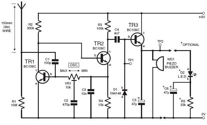 light sensor circuit page 5   sensors detectors circuits    next gr
