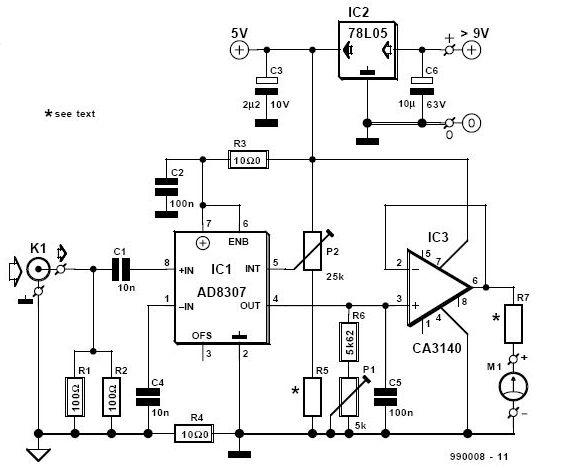rf decibel meter circuit under repository-circuits