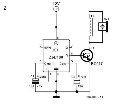 Brilliant Siren Circuit Page 4 Security Circuits Next Gr Wiring Digital Resources Antuskbiperorg