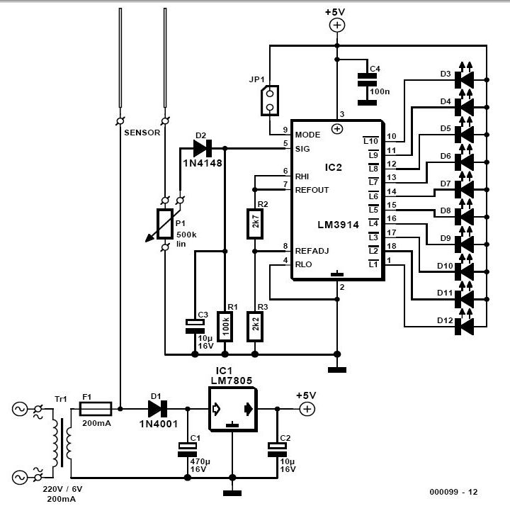 soil moisture tester circuit under repository-circuits