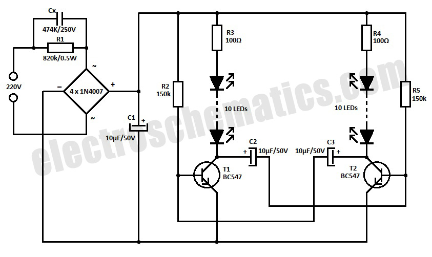 220v led blinker circuit under repository-circuits