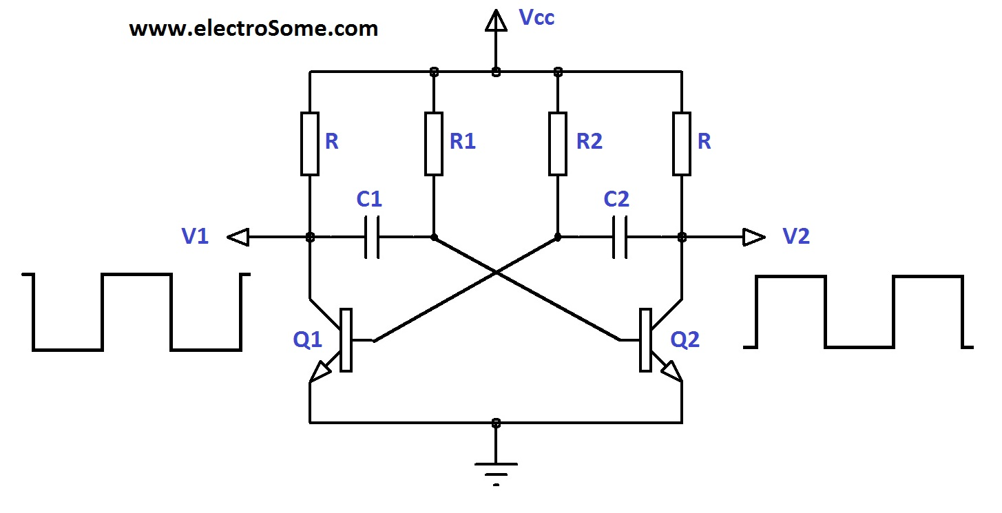 Results Page 6 About Without Microcontroller Searching Circuits Circuit Diagram Schematic Likewise Toy Organ 555 Timer Astable Multivibrator Transistors