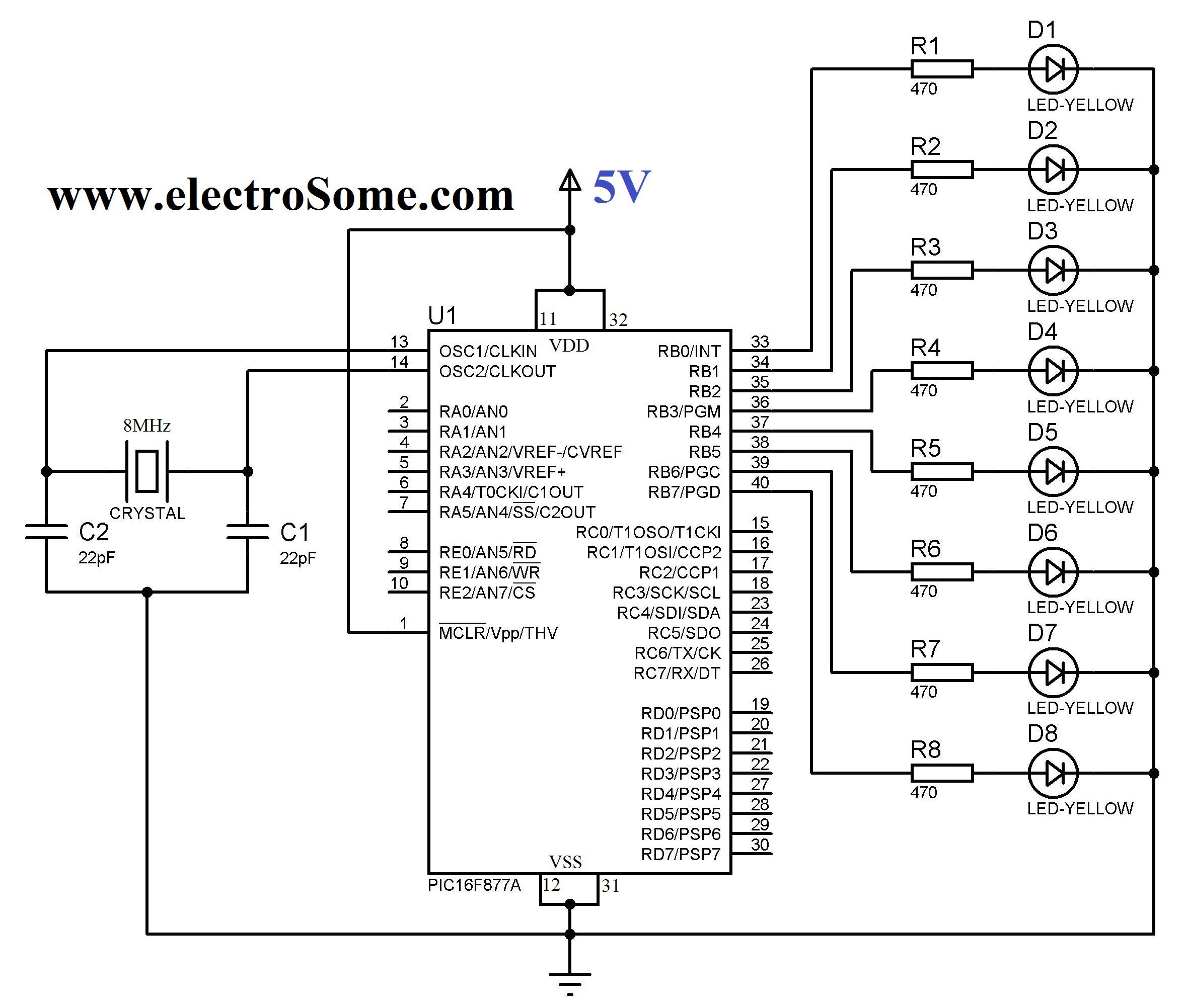 New Circuits Page 154 Circuitlab 555 Pwm Circuit For Driving A Bunch Of Pc Case Fans Pulse Blinking Led Pic Microcontroller Hi Tech C