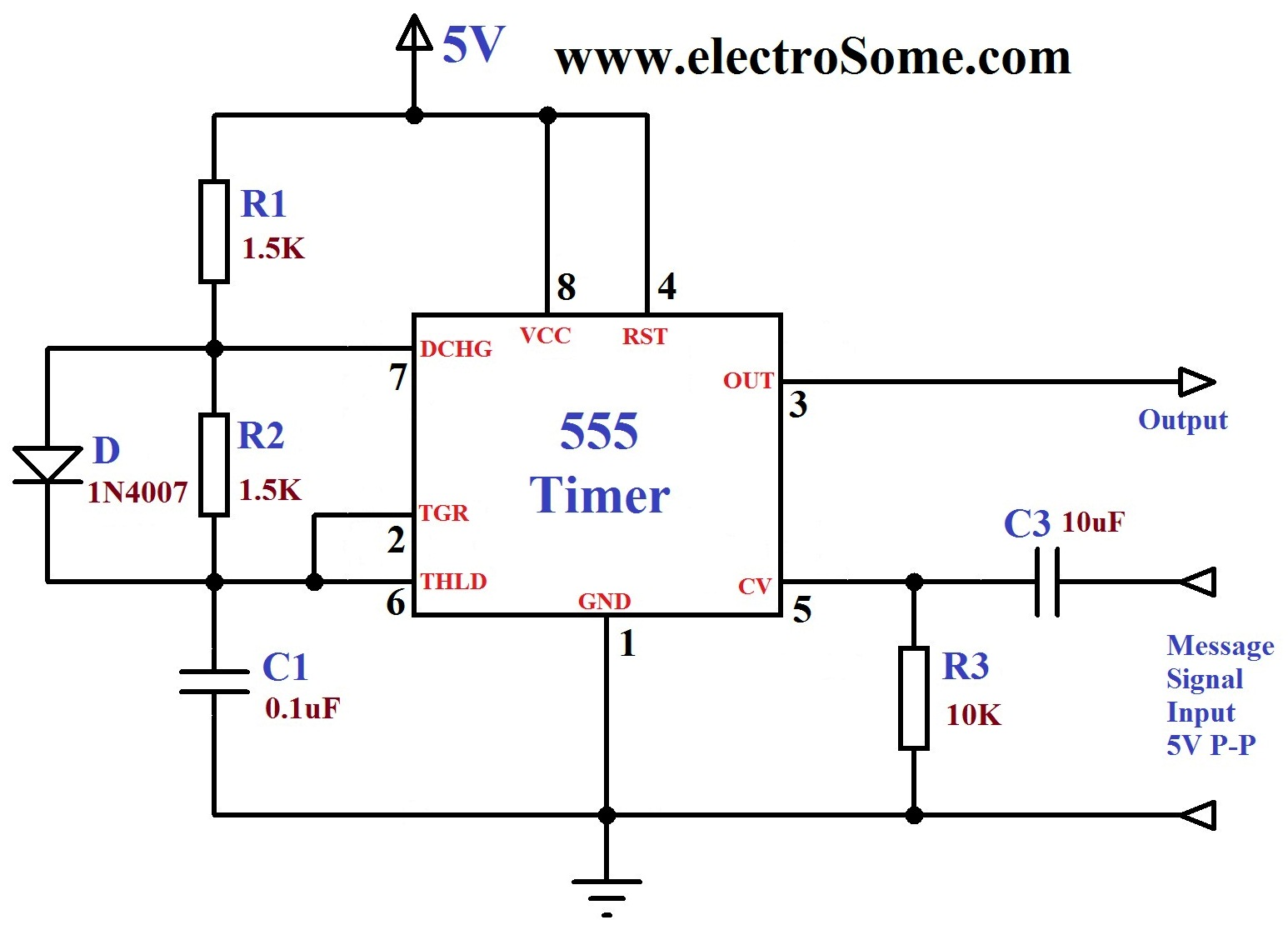 Results Page 359 About Rc Power Servo Controller Searching Projectsonelectricalengineering Quiz Project Using Ic 555 Fm Generation Timer