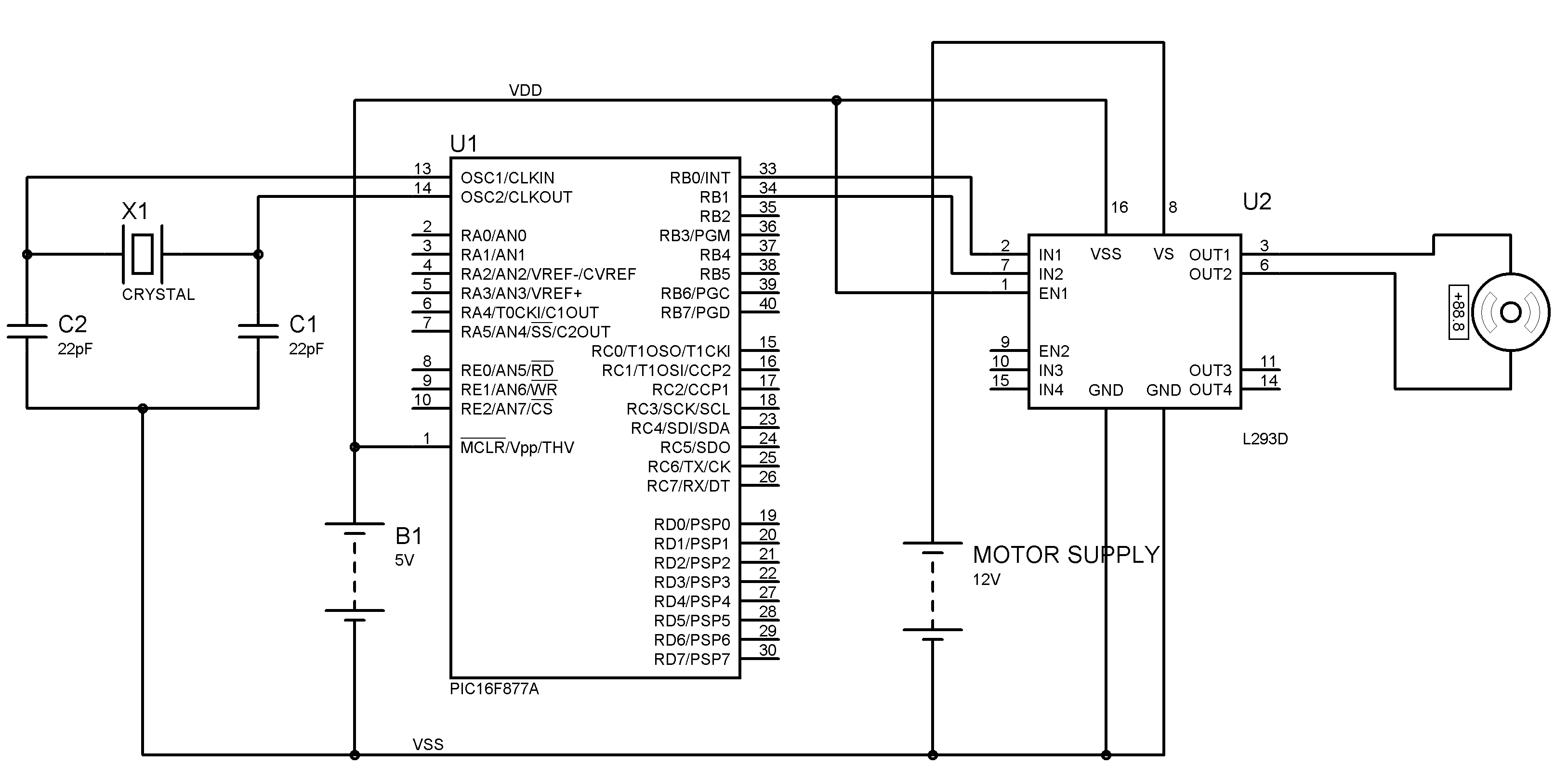 Results Page 116 About Control Device Searching Circuits At Ir Infrared Sensor Circuit Connected A With Pic18f4550 Microcontroller Dc Motor L293d Pic