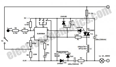 Light Dimmers Projects & Circuits - schematic