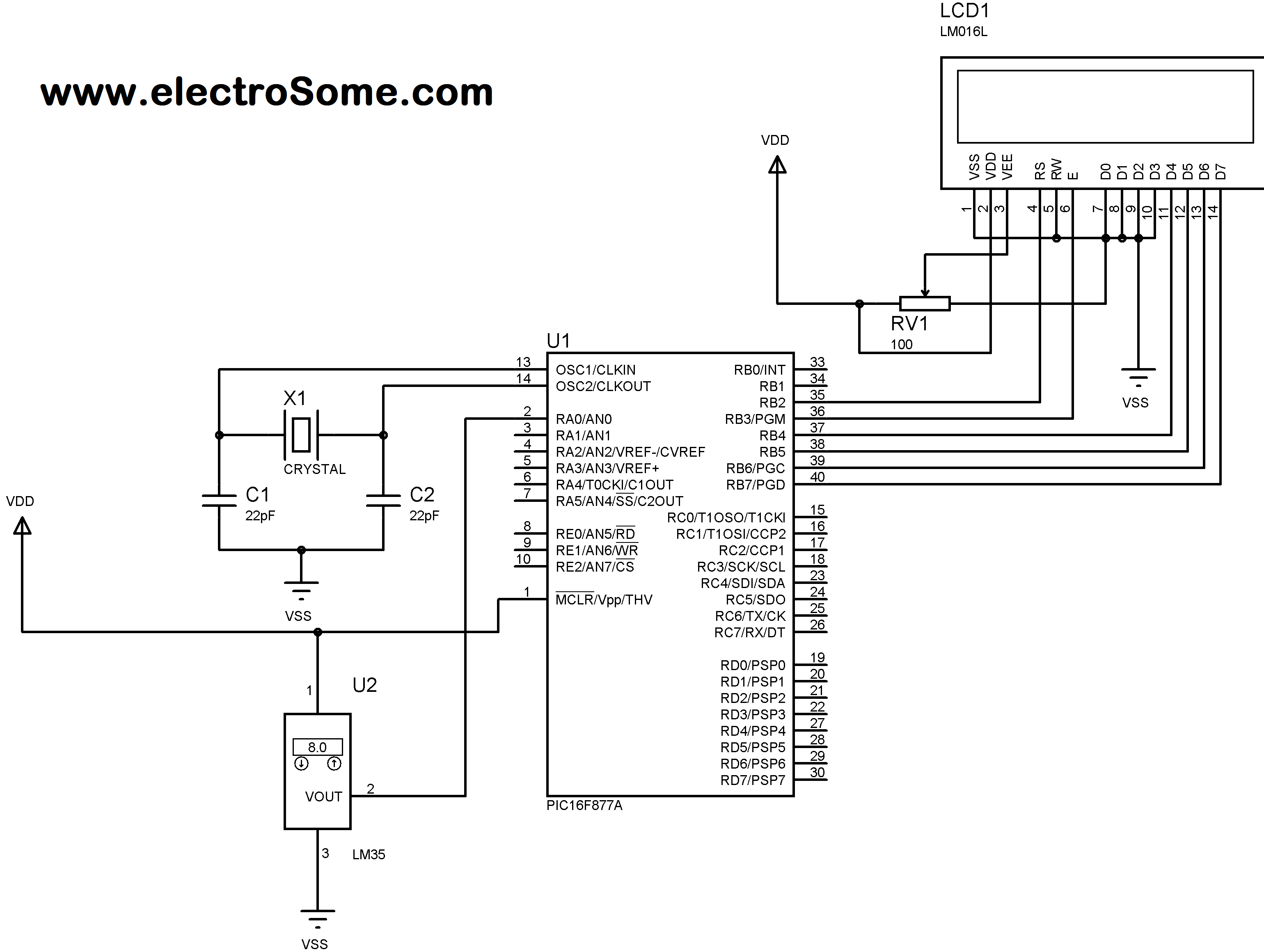 thermometer circuit page 7   meter counter circuits    next gr