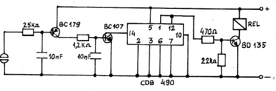 Touch Switch Circuits - schematic