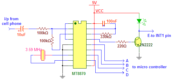 Mt8870 Dtmf Decoder Circuit Diagram | Results Page 9 About Dtmf Decoder Searching Circuits At Next Gr