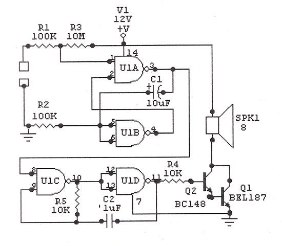 ultrasonic circuit page 5   audio circuits    next gr