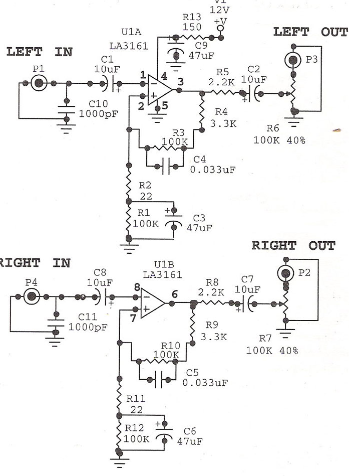 audio preamplifiers circuits page 2   audio circuits