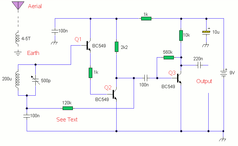 AM Receiver - schematic