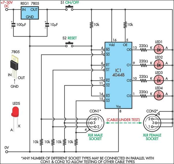 Tester Circuit Page 6 Meter Counter Circuits Next Gr
