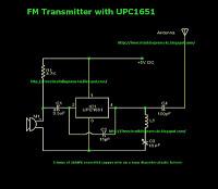 Mini FM Transmitter - schematic