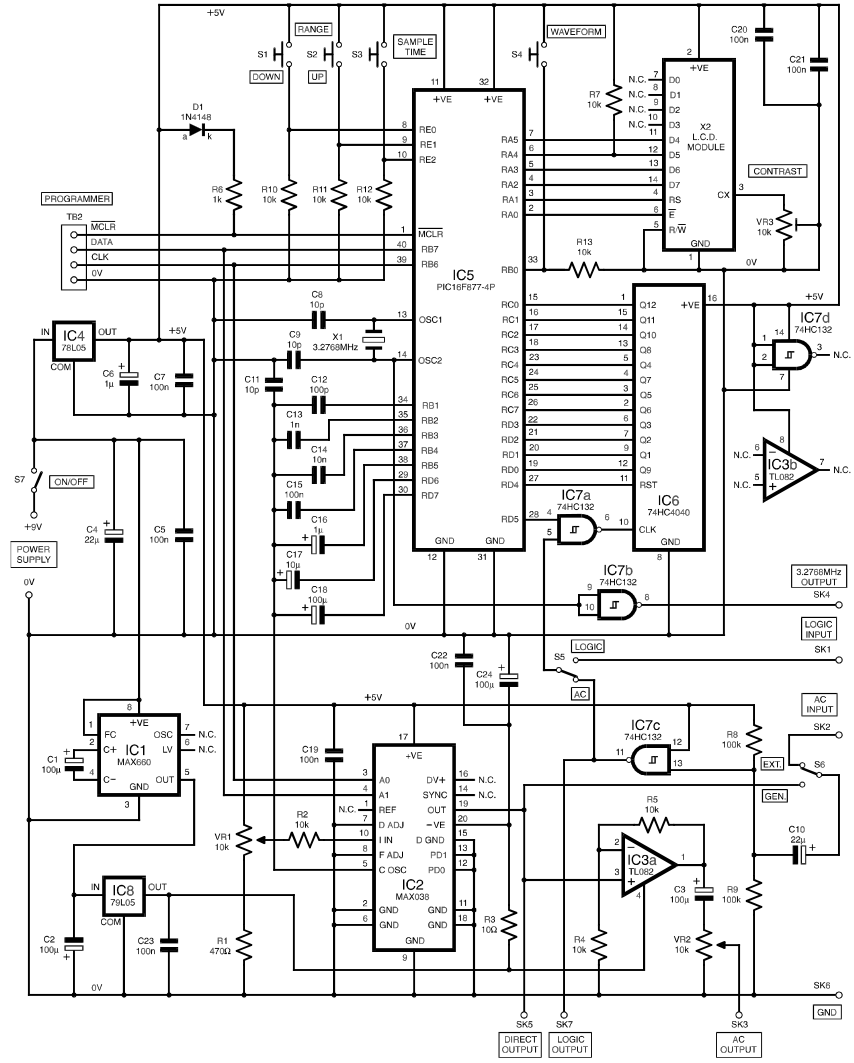 frequency meter circuit page 3   meter counter circuits    next gr