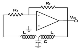 HARTLEY OSCILLATOR - schematic