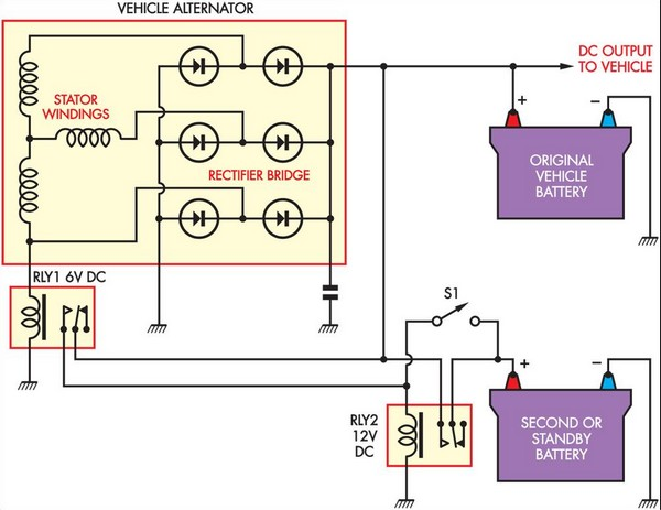 Battery Isolator Under Repository-circuits