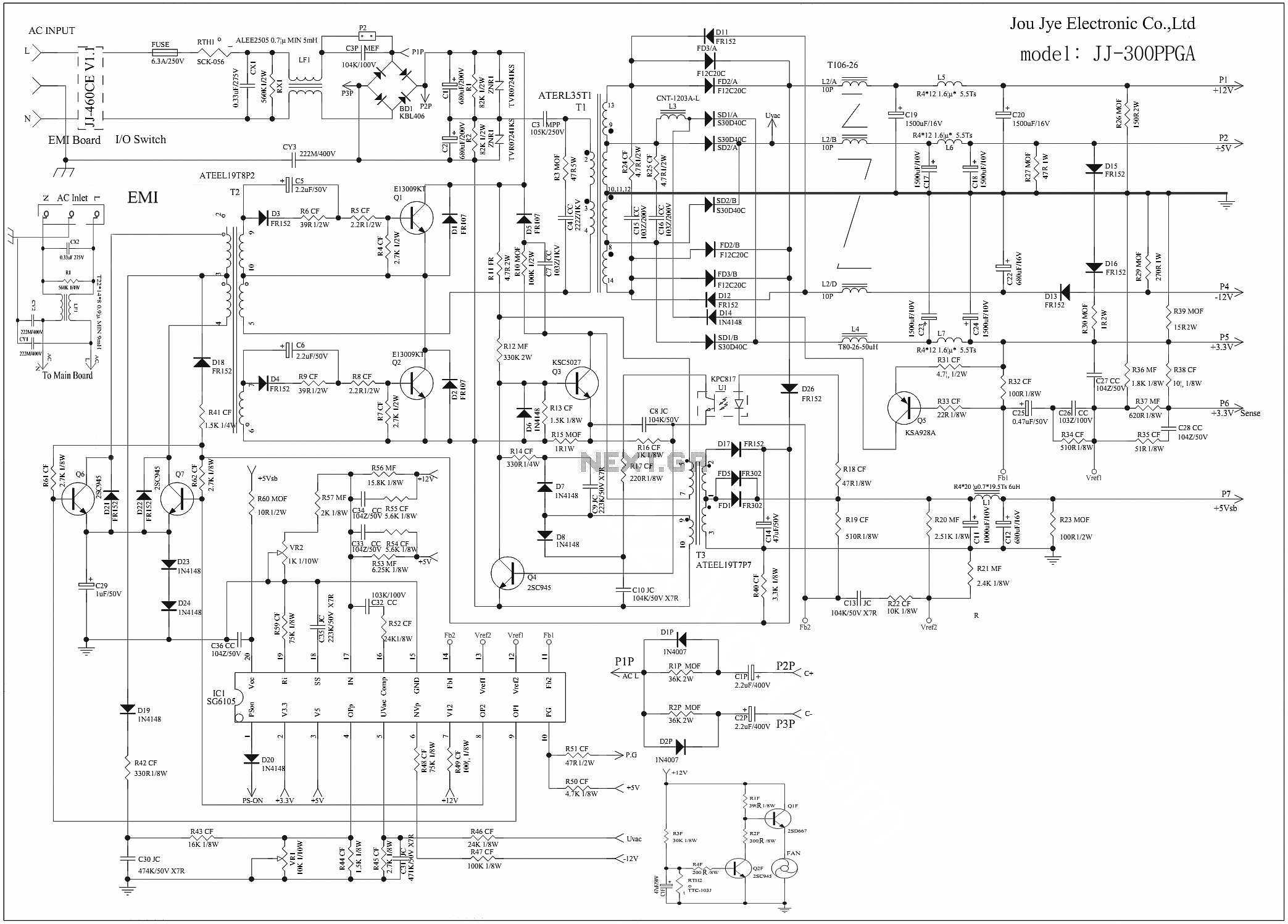 Awesome Atx Schematic Pictures Inspiration - Electrical Circuit ...