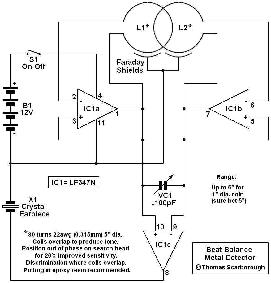 metal detector circuit sensors detectors circuits next gr metal detector wiring diagram cintex metal detector wiring diagram