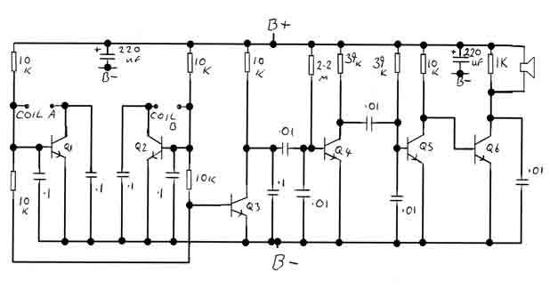 BFO metal Detector Circuit - img1
