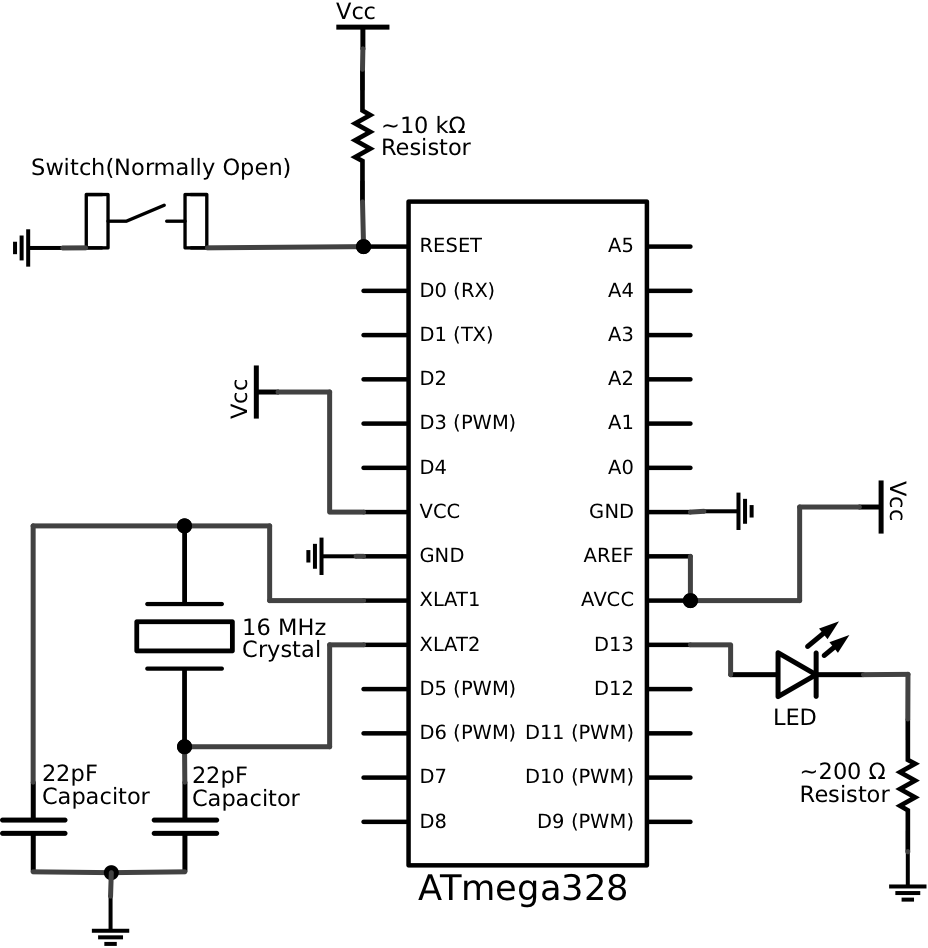 u0026gt  circuits  u0026gt  schematic of a breadboard arduino l43886