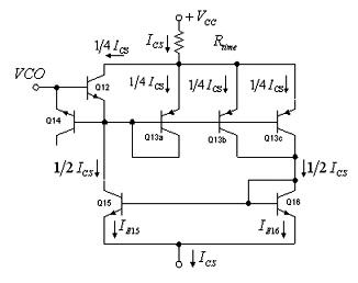 Voltage Controlled Current Source Phase Locked Loop - schematic