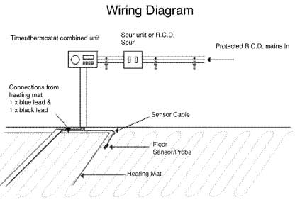 electric underfloor heating wiring diagram timer circuit page 5 : meter counter circuits :: next.gr #1
