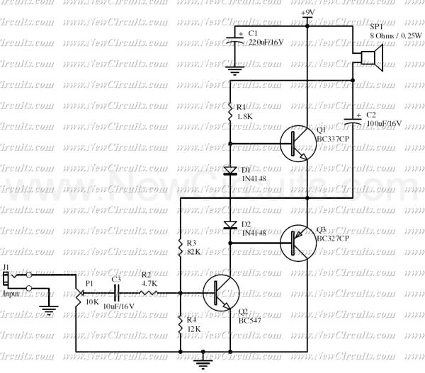 u0026gt  audio  u0026gt  amplifiers  u0026gt  signal amplifier with 2n2222 l7432