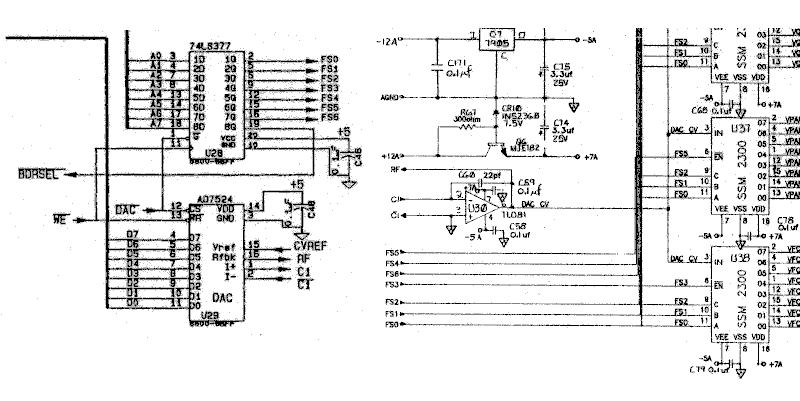 ESQ-1 help - schematic