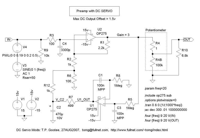 DC Servo - schematic