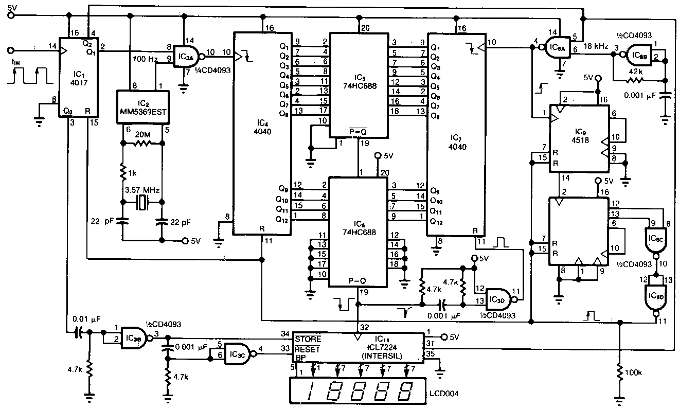 frequency meter circuit page 2   meter counter circuits    next gr