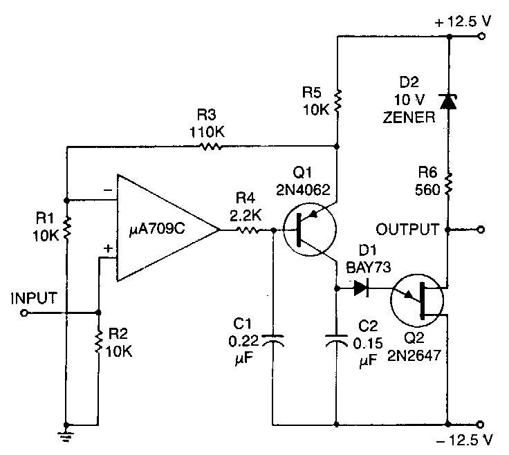 Voltage to-frequency-converter