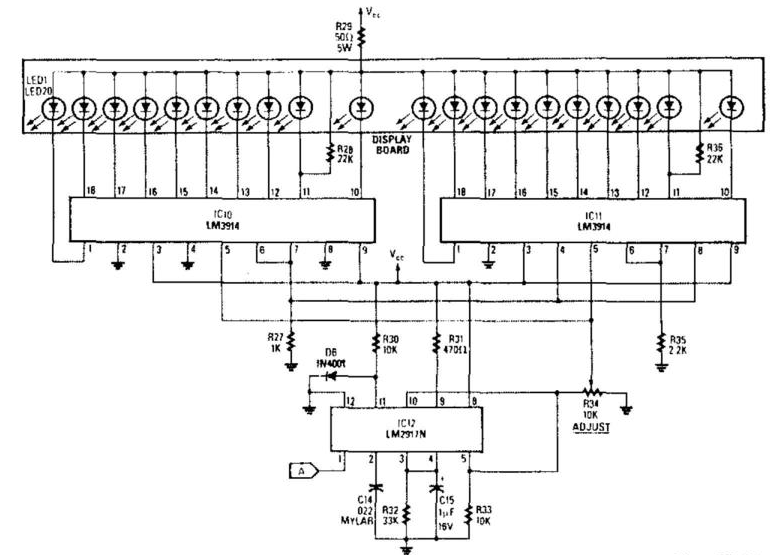 led tachometer wiring diagram