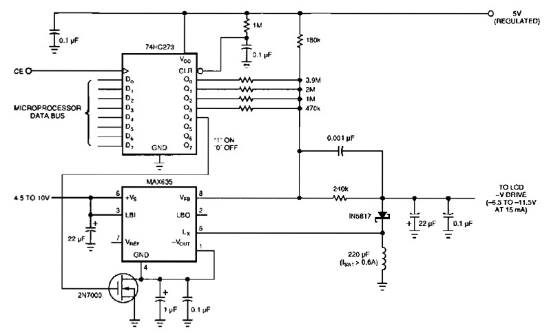 lcd power supply circuit under repository-circuits