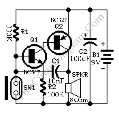 Alarm Circuit Page 7 Security Circuits Next Gr